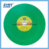 스테인리스 절단 바퀴 400mm 녹색을%s T41 절단 디스크