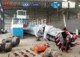 中国のカッターの吸引の浚渫船の販売のよい価格