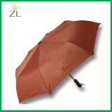 ترويجيّ عمل هبة كبير حجم [فيبرغلسّ] صامد للريح [هيغقوليتي] مظلة يفتح سيّارة 3 يطوي