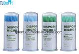 Verde da multa do aplicador da fonte econômica micro e luz descartáveis dentais - verde (Q902T)