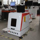 Mini máquina incluida de la marca del laser de la fibra del oro y de la plata de la cubierta protectora