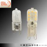 Lâmpada LED de alta eficiência G9 com CE
