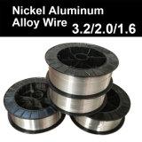 Alambre Rod 3.2m m/2.0mm/1.6m m de la aleación de aluminio del níquel del cromo todas las clases de alambre para la capa de aerosol termal del arco voltaico
