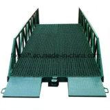 Rampa de trabajo de muelle de la venta de fabricante del nivelador de la rampa del almacén del cargamento eléctrico hidráulico barato resistente de la carretilla elevadora