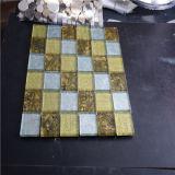 300x300mm Mosaico de vidrio para piscina Azulejos, mezclar-color del azulejo de mosaico