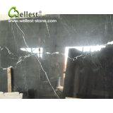 طبيعيّ أسود رخاميّة لوح مطبخ [كونترتوب] حجارة غرفة حمّام تفاهة أعلى