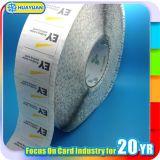 Escritura de la etiqueta de la etiqueta engomada de la codificación Ntag215 RFID NFC de la viruta de la impresión en el rodillo para la recogida y el intercambio de información
