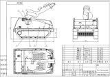 Châssis de chantier Robot de lutte contre l'incendie (M80D)