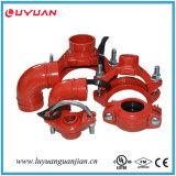 Homologação de FM com aprovação UL Ductile Threaded Iron Reducer Tee 60.3 * 33.7