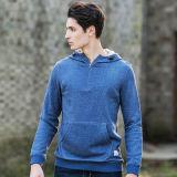100 хлопка хорошего качества в удлиненной худи Activewear износа, мужчины в удлиненной худи Pullover