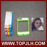 Nuevas cajas del teléfono de la sublimación de la pieza inserta 3D de la tarjeta para el iPhone 5/5s