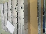 Electrombile Electrocarの電気ソースの電気手段の部品のパワー・パックボックスはダイカストを
