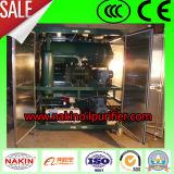 Máquina de la limpieza de la filtración del petróleo del vacío de la eficacia alta, planta de reciclaje del petróleo