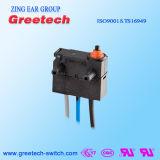 Subminiature gedichteter wasserdichter Mikroschalter verwendet im Auto und in den Spielwaren