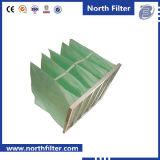 De groene Filter van de Zak van de Media van het Frame van het Aluminium van de Kleur Synthetische F6