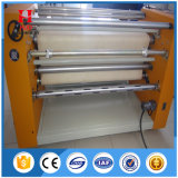 Macchina rotativa della pressa di scambio di calore del tessuto caldo di vendita