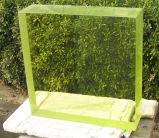 Verre médical en plomb Le verre végétal