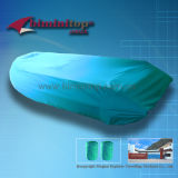 Teal bote hinchable cubre