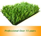 Relvado artificial fibrilado da grama do fio para o futebol, futebol, Futsal