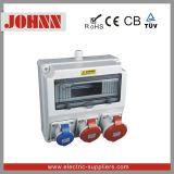Amarelo Cee / IEC National Standards 12 móveis Waterproof Socket Box