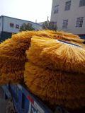 Cepillos de nylon industriales vendedores calientes del rodillo del barrendero de calle para la venta