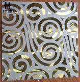 Placa de Design em aço inoxidável para decoração Porta de cozinha de parede do Elevador