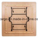 '' Tableau de banquet 72 se pliant en bois carré (CGT1626)