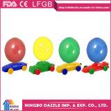 Het in het groot Grappige Stuk speelgoed van de Partij van de Verjaardag van de Autoracer van de Ballon
