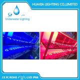 Indicatore luminoso subacqueo di illuminazione del raggruppamento della fontana LED di DC12/24V 27watt