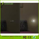 Lampe blanche de nuit du capteur de lumière DEL pour la pièce de gosses