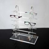 12 paires de lunettes de soleil de présentoir acrylique, étalage de lunetterie