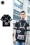 Commerce de gros Custom Hiphop imprimé T-Shirt pour hommes