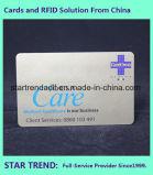 Inkjet Printing Off-Set Clear Card Cartão padrão para membro