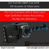 """Neue 3.0 """" Auto-Kamera der Bildschirmanzeige-FHD1080p 5.0mega eingebaute Ar0330 CMOS des Auto-DVR, Winkel der Ansicht-170degree, G-Fühler, parkende Steuerung DVR-3032"""