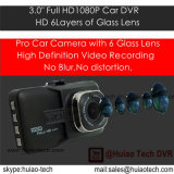 "Nuevo 3.0"" Pantalla FHD1080p DVR coche 5.0Mega cámara incorporada Ar0330 CMOS de coches, 170degree Ángulo de visión, G-Sensor, Control de Estacionamiento DVR-3032"