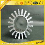 6000series anodisierter maschinell bearbeitenteil-Aluminium-Kühlkörper