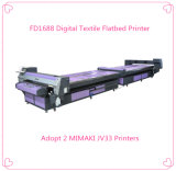 Impressora direta do algodão Flatbed, máquina de impressão de matéria têxtil