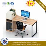 Стол вычислительного бюро ноги металла прикрепленный кухонным шкафом деревянный (HX-5N101)