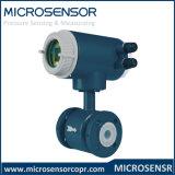 Medidor de fluxo eletromagnético inteligente Mfe600 com alta precisão