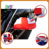 De Custome Geborduurde Vlaggen van de Spiegel van de Auto van de Vlag van Portugal Nationale (hycm-AF029)