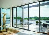 Алюминиевые раздвижные двери с противомоскитные сетки