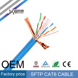 Кабель LAN FTP испытания CAT6 двуустки пропуска Sipu для сети
