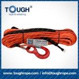 Corda sintetica dell'argano di Kevlar UTV della corda dell'argano di UHMWPE SUV 4X4 tutta la corda dell'automobile del terreno