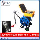 camera van de Inspectie Borewell van de Camera van kabeltelevisie van 300m/500m de Onderwater Onderzeese met het Dubbele Hoofd van de Camera