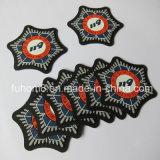 Ropa de moda personalizada/PVC silicona Imprimir etiqueta cuero Nubuck