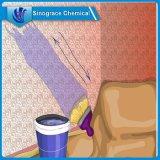 Émulsion acrylique de styrène pour des enduits de mur extérieur et intérieur