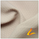 água de 50d 320t & do Sportswear tela 100% pontilhada pérola tecida do Pongee do poliéster do jacquard para baixo revestimento ao ar livre Vento-Resistente (53237)