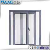 Porte coulissante en aluminium de l'alliage 6463 T5 pour la salle de bains