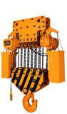 Encadenamiento eléctrico dual del alzamiento de la tonelada 380V de la velocidad 35