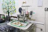 Comupterの単一ヘッドによってコンピュータ化される刺繍機械